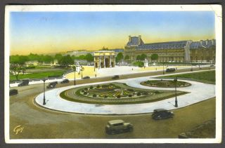 Postcard of Paris posted in Munich with a Nazi postmark, with possible 1936 Olympics connection....