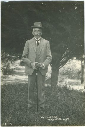 Photograph of Billy Hughes. William Morris Hughes, 7th Prime Minister of Australia