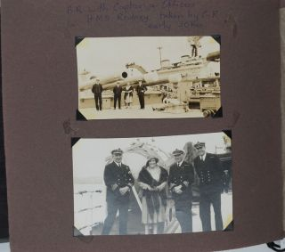 Australian tour 1939. Personal photograph album including itinerary and tickets, Qantas & Imperial Airways.