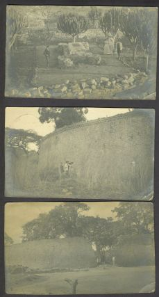 Southern Rhodesia: Great Zimbabwe Ruins & Gatooma. 15 real photo post cards. Photography, Zimbabwe