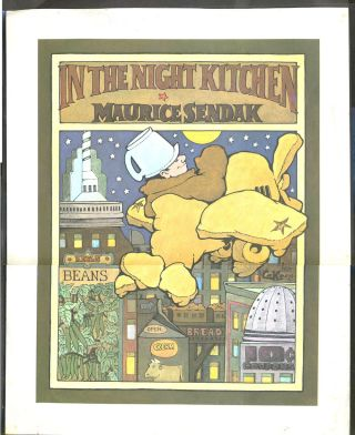 In the Night Kitchen. Poster. Children's, Maurice Sendak