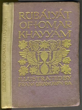 Rubaiyat of Omar Khayyam. Illustrated by Frank Brangwyn. Rubaiyat, Edward FitzGerald, Omar...