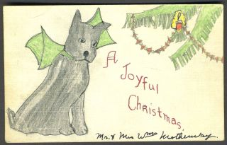 A Joyful Christmas. Christmas card