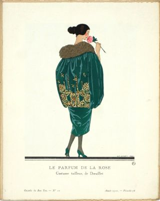 Gazette du Bon Ton. Art, Modes & Frivolités. Third Year: Volume Three, 7 Numbers in wrappers, 3 partial Numbers.