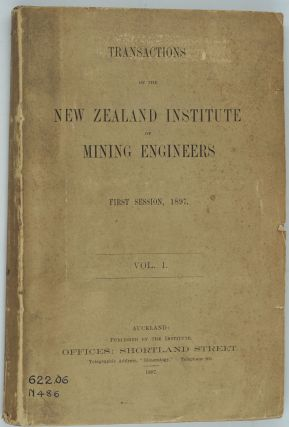 The Geology and Veins of the Hauraki Goldfields, in Transactions of the New Zealand Institute of...