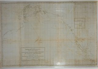 Chart of the Northwest Coast of America with the tracks of the King George and Queen Charlotte in...