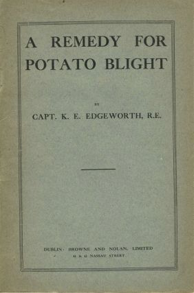 Handbook of Fungus Diseases of the Potato in Australia and Their Treatment (with) A Remedy for Potato Blight.