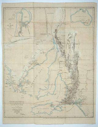 South Australia Shewing the Division into Counties of the Settled Portions of the Province With...