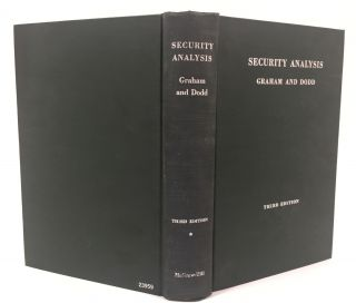 Security Analysis. Principles and Technique. With the collaboration of Charles Tatham, Jr....