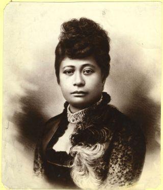 Hawaii Princess Likelike, Albumen photo. Hawaii, Photography