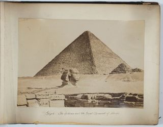 Twenty-Seven Large Format Photographs of Egypt By Antoine (Antonio) Beato. Photography, Egypt, A....