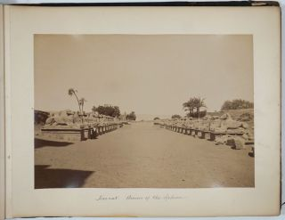 Twenty-Seven Large Format Photographs of Egypt By Antoine (Antonio) Beato.
