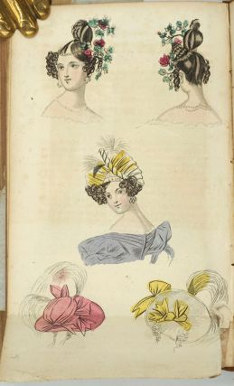 The Ladies' Cabinet of Fashion, Music, and Romance [First 4 volumes].