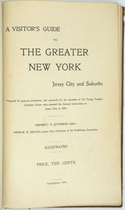 A Visitor's Guide to the Greater New York Jersey City and Suburbs.