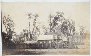 Photo Album 1870-1892 including many images of Queensland.