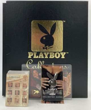 Playboy's Lingerie 2000 Collectors Cards