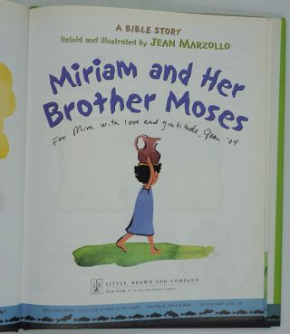 Miriam and Her Brother Moses [SIGNED].