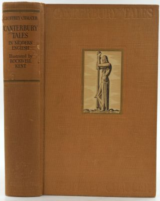 Canterbury Tales. Rendered into Modern English by J.U. Nicolson. With Illustrations by Rockwell...