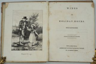 Wings For Holiday Hours with Illustrations. Revised by the Committee of Publication.
