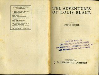 The Adventures of Louis Blake.