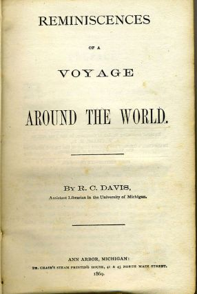 Reminiscences of a Voyage Around the World.