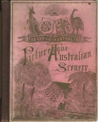 Picturesque Australian Scenery photogravure booklet.