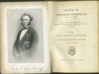 Journal of Commodore Goodenough.