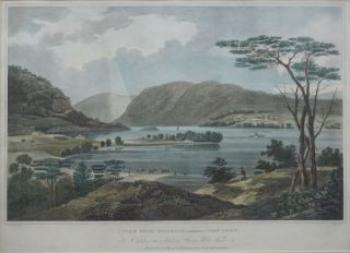 View from Fishkill Looking to West Point. (No. 15 of the Hudson River Portfolio). William Guy Wall.