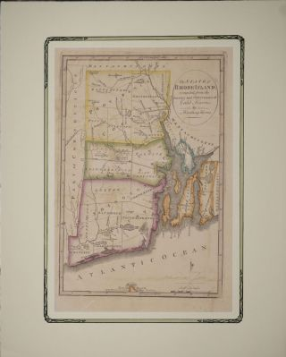 State of Rhode-Island; compiled from the Surveys and Observations of of Caleb Harris. Harding...