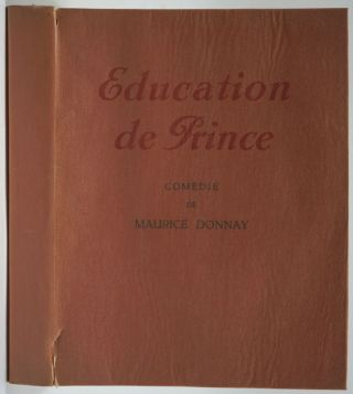 Education de Prince. Maurice Donnay
