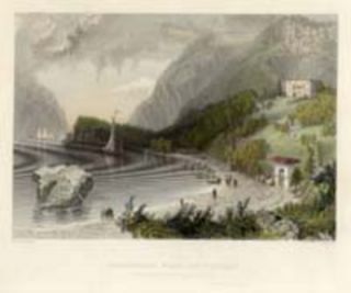 Undercliff Near Cold Spring. W. H. Bartlett, sc J. T. Willmore