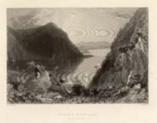 Hudson Highlands (From Bull Hill.). W. H. Bartlett, sc E. Benjamin