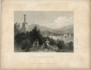 The Tomb of Kosciusko. W. H. Bartlett, sc R. young