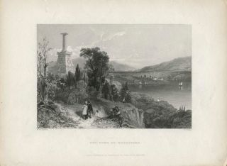The Tomb of Kosciusko. W. H. Bartlett, sc R. Wallis