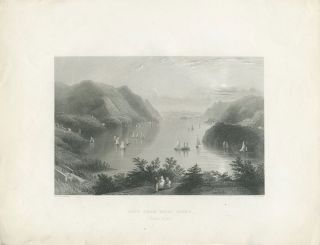 View from West Point. (Hudson River.). W. H. Bartlett, sc R. Wallis