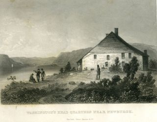 Washington's Head Quarters Near Newburgh. Anon
