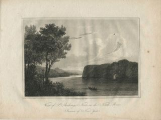 View of St. Anthony's Nose, on the North River. Province of New York. Geo Cooke, engraver