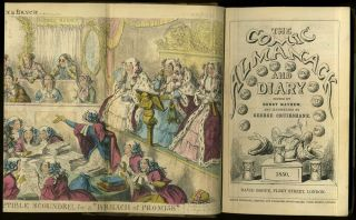 The Comic Almanack and Diary for 1850,1851.