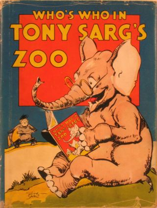 Who's Who in Tony Sarg's Zoo. Children's, Kangaroo